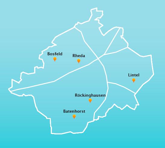 Touren Fensterreinigung Rheda-Wiedenbrück